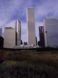 Aon Center, One Prudential Plaza and Blue Cross Blue Shield Building Photographic Print by Paul Daimien