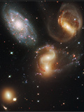 The Galaxies of Stephan's Quintet Photographic Print by  NASA