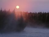 Sunrise over Kasilof River, Kasilof, Alaska Photographic Print by Matthias Breiter/Minden Pictures
