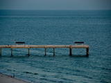 A Pier in Gulf Shores, Alabama Photographic Print by National Geographic Photographer