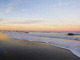 Surf at Sunset Off Fernandina Beach Photographic Print by Mauricio Handler