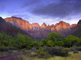 Towers of the Virgin, Zion National Park, Utah Photographic Print by Tim Fitzharris/Minden Pictures