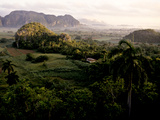Early Morning Landscape of Cuba's Tobacco Region Photographic Print by Kenneth Ginn