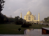 The Taj Mahal after a Rain Shower Photographic Print by Kenneth Ginn