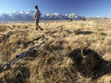A Hunters Trophy Awaits Transport in the Bridger-Teton National Forest Photographic Print by Drew Rush