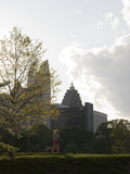 People Exercising in Piedmont Park in Midtown, Atlanta Photographic Print by Krista Rossow