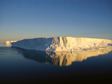 Tabular Icebergs, Late Summer Sun, Prince Olav Coast, East Antarctica Photographic Print by Tui De Roy/Minden Pictures