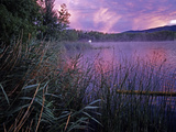 Lake Banyoles at Sunset Photographic Print by Tino Soriano