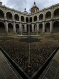 Courtyard, City of Oaxaca Museum Photographic Print by Raul Touzon