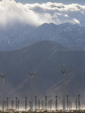 Wind Turbines at San Gorgonio Pass Photographic Print by  Greg
