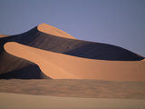 Sand Dunes Near Sossus Vlei, Among the Highest in the World, Namib-Naukluft National Park, Namibia Photographic Print by Michael and Patricia Fogden/Minden Pictures