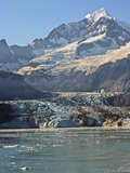 Foot of Glacier at Johns Hopkins Inlet, and the Fairweather Range Photographic Print by Steve And Donna O'Meara