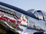 The P-51 Mustang Was a Long-Range Single-Seat WWII Fighter Aircraft Fotografiskt tryck av Pete Ryan