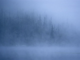 Morning Mist Rises Off a Lake in Algonquin Park in Central Ontario Photographic Print by Kenneth Ginn