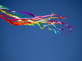 A View of a Kite's Tail at the Parksville Kite Festival Photographic Print by Pete Ryan