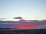 Dramatic Sunset Looking Towards the Antarctic Mountain Range Photographic Print by Steve And Donna O'Meara