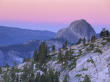 Half Dome Seen from Olmsted Point, Yosemite Nat'l Park, California Photographic Print by Theo Allofs/Minden Pictures