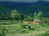 A Farm and Home in the Mountains of Panay Island Photographic Print by Tim Laman