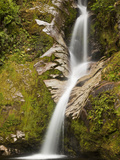 Dorothy Falls, Near Lake Kaniere, New Zealand Photographic Print by Colin Monteath/Minden Pictures