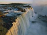 Cascades of Iguacu Falls, Iguacu Falls Nat'l Park, Brazil Photographic Print by Thomas Marent/Minden Pictures