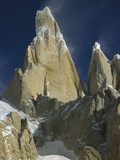 East Face of Cerro Torre, Los Glaciares National Park, Patagonia, Argentina Photographic Print by Colin Monteath/Minden Pictures