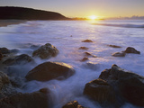 Rocky Seashore at Sunrise, Mimosa Rocks Nat'l Park, Australia Photographic Print by Theo Allofs/Minden Pictures
