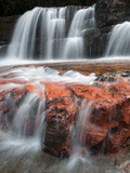 Jasper Falls, Canaima National Park, Venezuela Photographic Print by Ch'len Lee/Minden Pictures