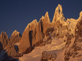 West Face of Cerro Torre, Los Glaciares National Park, Patagonia, Argentina and Chile Border Photographic Print by Colin Monteath/Minden Pictures