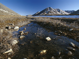 Stream Running over Tundra, Arctic National Wildlife Refuge, Alaska Photographic Print by Gerry Ellis