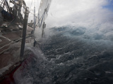Rough Seas Through Drake's Passage, Photographic Print