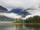 Coastline, Endicott Arm, Inside Passage, Southeast Alaska Photographic Print by Konrad Wothe