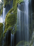Waterfall, Bavaria, Germany Photographic Print by Konrad Wothe