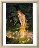 Midsummer Eve, c.1908 Lminas por Edward Robert Hughes