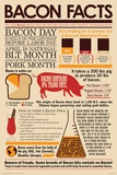 Bacon Facts Psters