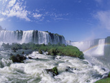 Rainbow at Iguacu Falls, Brazil Photographic Print by Konrad Wothe