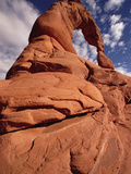 Upward View of Delicate Arch, Arches National Park, Utah Photographic Print by Gerry Ellis