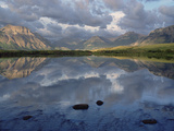Lower Waterton Lake, Boundary Mountain, Waterton National Park, Alberta, Canada Photographic Print by Gerry Ellis