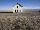 An Abandoned Farmhouse in the San Luis Valley Photographic Print by Scott S. Warren