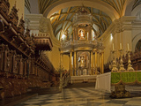 The Ornate Interior of the Cathedral Church of Lima, Peru Photographic Print by Gordon Wiltsie
