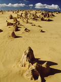 Pinnacle Formations in Nambung National Park, Western Australia Photographic Print by Gerry Ellis