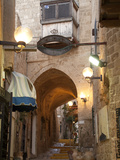 A Street in the Old Jaffa Historic District of Tel Aviv Photographic Print by Richard Nowitz