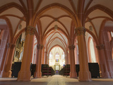 Arched Columns Inside St. Peter's Church in Heidelberg Reproduction photographique par Greg Dale