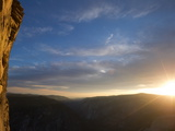Sunrise over Yosemite National Park Photographic Print by Jimmy Chin