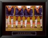 Courage: Soccer Players Prints