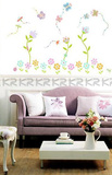 Enchanted Floral Garden Wall Decal