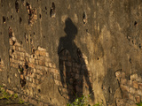 The Shadow of a Person on an Old Brick Wall Photographic Print by Karen Kasmauski