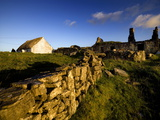 A Cottage on Inishmore in the Aran Islands, Ireland Photographic Print by Chris Hill