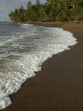 Surf on the Beach in Corcovado National Park Photographic Print by Tim Laman