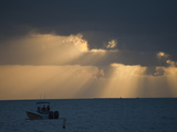 A Boat Off Key Largo at Sunset Photographic Print by Karen Kasmauski