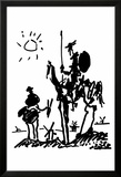 Don Quichotte Affiches par Pablo Picasso